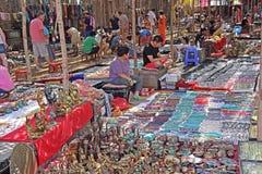 Flea Market in Anjuna Beach Goa Royalty Free Stock Photos