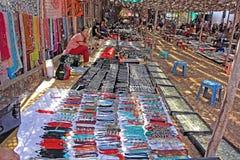Flea Market in Anjuna in Goa Royalty Free Stock Images