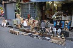 Flea market in Bangkok Royalty Free Stock Photography