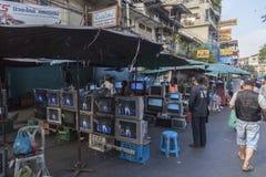 Flea market in Bangkok Royalty Free Stock Photo