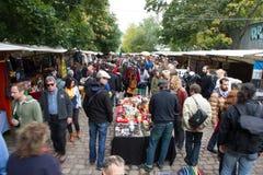 Flea market, Berlin, Germany Stock Images