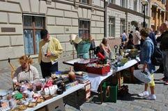 Flea market Stock Images