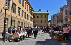 Flea market Royalty Free Stock Image