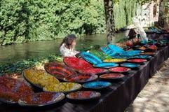 Flea market in Bruges Stock Images