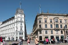 Flea Market at Copenhagen Royalty Free Stock Photo