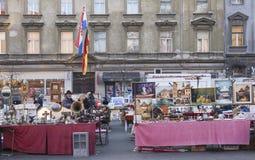 Flea market Stock Image