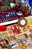 Flea market details Stock Photos
