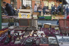 Flea market details Royalty Free Stock Photography