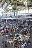 Flea market, Els Encants Vells, Barcelona. Stock Photography