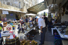 Flea Market in Haifa Stock Image