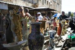 Flea Market in Haifa Royalty Free Stock Photo