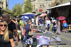 Flea Market in Haifa Stock Images