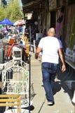 Flea Market in Haifa Stock Photos