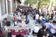 Flea market in Harbin, China Royalty Free Stock Photo