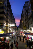Flea market in Hong Kong Stock Images