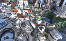 At the Flea Market Stock Photo
