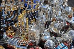 At Flea Market in Jerusalem. Closeup image of vintage items at the flea market in Jerusalem, Israel Stock Photos