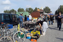 Flea market Stock Photography