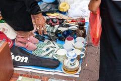 Flea market in Kuala Lumpur, Malaysia Royalty Free Stock Photos