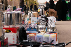 FLEA MARKET MIDDLE EAST IRAQ Royalty Free Stock Photos