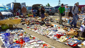 Flea market Stock Photography