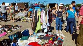 Flea market Royalty Free Stock Photography