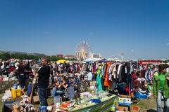 Flea-Market at Munich spring festival Royalty Free Stock Photography