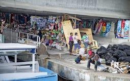 Flea market in Nassau, Bahamas Stock Image