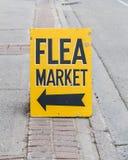 Flea Market Sign Stock Photography