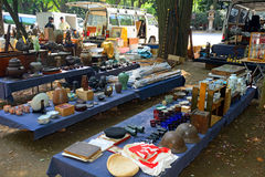 Flea market, Tokyo, Japan Royalty Free Stock Photo