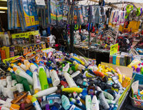 Flea market Waterlooplein in Amsterdam Royalty Free Stock Photos