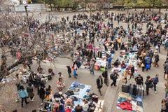 Flea Market at Yoyogi Park in Harajuku, Japan Stock Image