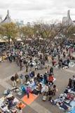 Flea Market at Yoyogi Park in Harajuku, Japan Stock Photo