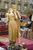 Flea market in Zagreb, Croatia Royalty Free Stock Photos