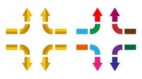 Flecha Imágenes de archivo libres de regalías