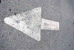 Flecha Fotografía de archivo libre de regalías