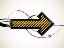 Flecha Imagen de archivo libre de regalías