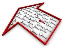 Flecha Foto de archivo libre de regalías