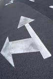 Flecha de la calle imágenes de archivo libres de regalías