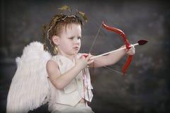 Flecha de los Cupids Fotos de archivo libres de regalías