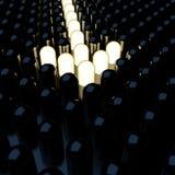 Flecha de los diodos luminosos Imagen de archivo
