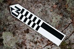 Flecha de Norht Foto de archivo libre de regalías