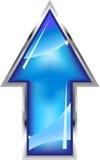 Flecha del acoplamiento Fotografía de archivo