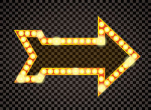Flecha del bulbo libre illustration