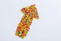 Flecha del cereal Fotografía de archivo libre de regalías