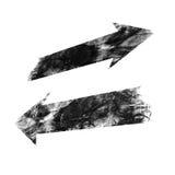 Flecha del Grunge ilustración del vector