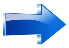 Flecha del vector Foto de archivo libre de regalías