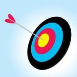 Flecha del vector Fotografía de archivo
