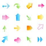 Flecha/flechas Foto de archivo libre de regalías