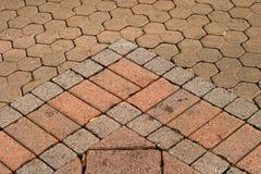 Flecha pavimentada Fotos de archivo libres de regalías
